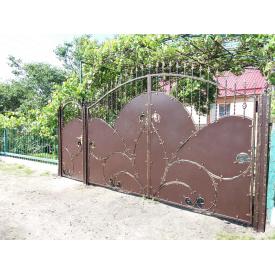 Ворота ковані ПП Брама Пікова дама
