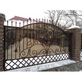 Забор кованый ЧП Брама Ира без пластика