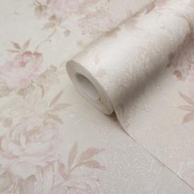 Шпалери шовкографія для залу LS Агава Декор молочно-рожевий ЕШТ 2-1405 1,06х10,05 м