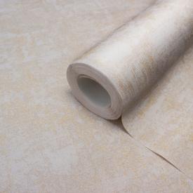 Вінілові шпалери для стін гарячого тиснення LS Деко бежево-пудрові СШТ 3-1217 1,06х10,05 м
