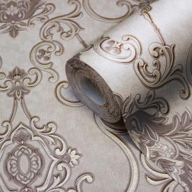 Коричневі шпалери орнамент LS Зан ДХV-1249/4 1,06х10,05 м