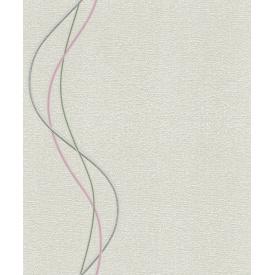 Вінілові шпалери на паперовій основі LS Астон світло-сіро-бежеві ВКП4-1179 10,05х0,53 м