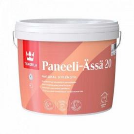 Лак для стен и потолка Tikkurila Paneeli-Assa 20 Полуматовая 0,9 л