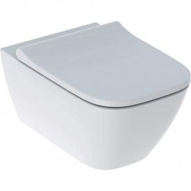 Комплект подвесного унитаза Geberit Smyle Square серия iCon с сиденьем 500.683.00.2