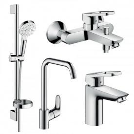 Набор смесителей для ванны LOGIS LOOP HANSGROHE 1172019