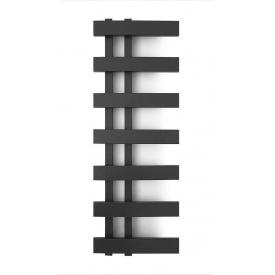 Полотенцесушитель водяной лесенка Genesis Aqua Magnum Light 80x35 см Черный