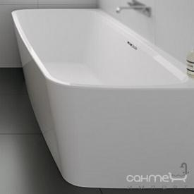 Отдельностоящая/пристенная акриловая ванна Riho Adore FS 180x86 BD0400500000000 белая