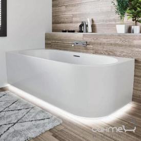 Акриловая ванна с нижней LED-подсветкой и панелью Riho Desire R 184x84 BD0500500K00133 белая