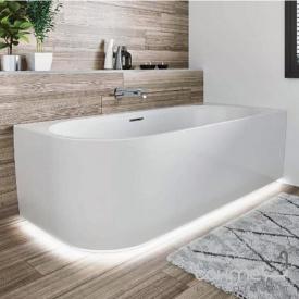 Акриловая ванна с нижней LED-подсветкой и панелью Riho Desire L 184x84 BD0600500K00133 белая