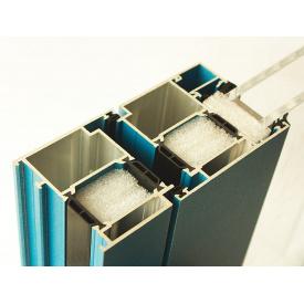 Алюминиевое окно из теплого алюминия Alutech ALT W72