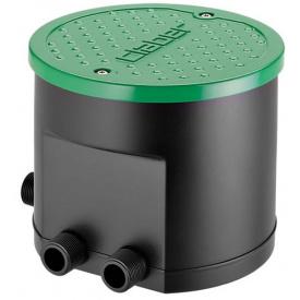 Таймер подачи воды Claber встроенный в коробку подземного полива 4-х канальный (81892)