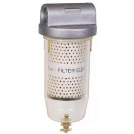 Фильтр с сепарацией воды для ДТ и бензина 10 микрон Groz 44316