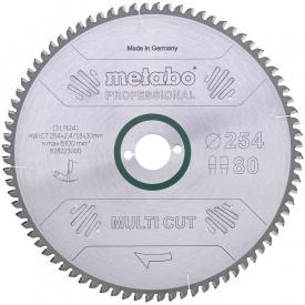 Пильный диск Metabo HW/CT 254x30 80 FZ/TZ 5 (628223000)