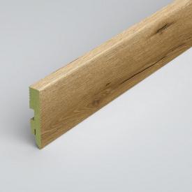 Плинтус напольный Classen Green Prestige 80 MDF L3890 Matera Oak