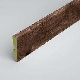 Плинтус напольный Classen Green Prestige 80 MDF L3991 Rainy Oak