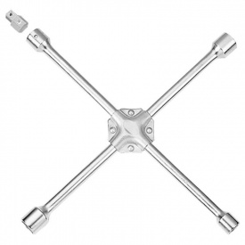 Ключ крестовой усиленый с адаптером 19х21х22х17(?) ULTRA (6031022)