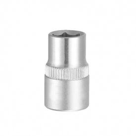 """Насадка шестигранная короткая 1/4"""" 14мм CrV ULTRA (6060142)"""