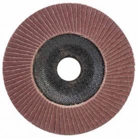 КРУГ ЛЕПЕСТКОВЫЙ ТОРЦЕВОЙ Т29 (КОНИЧЕСКИЙ) диаметр125ММ P100 SIGMA (9172651)