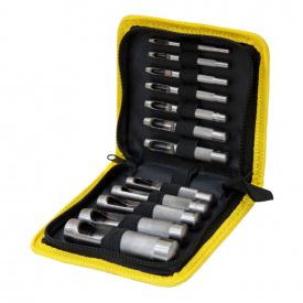 Набор просечек 12 ед, 3-19 мм ( тканевый кейс)Sigma (4328431)