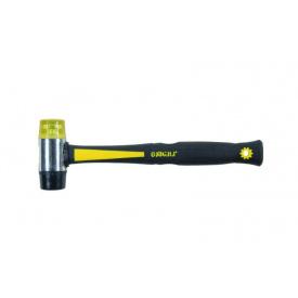 Молоток жестянщика резина-пластик 35мм фибергласовая ручка Sigma (4312021)