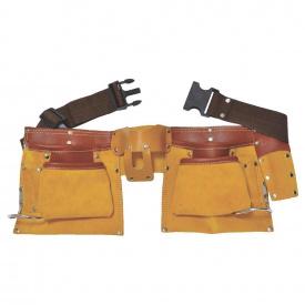 Пояс слесарный кожаный 12 карманов Sigma (9450351)
