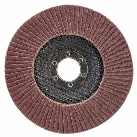 КРУГ ЛЕПЕСТКОВЫЙ ТОРЦЕВОЙ Т29 (КОНИЧЕСКИЙ) диаметр125ММ P60 SIGMA (9172631)