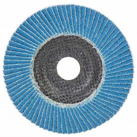 КРУГ ЛЕПЕСТКОВЫЙ ТОРЦЕВОЙ Т29 (КОНИЧЕСКИЙ) ZA диаметр125ММ P60 SIGMA (9173531)