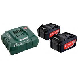 Базовый комплект Metabo Li-Power 18 В 4 Ач 2 шт + ASC 30-36 В (685050000)