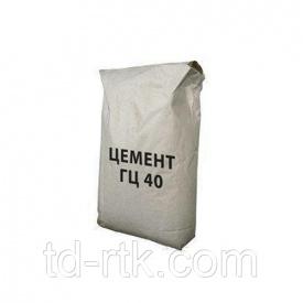 ГЦ-40 глиноземистый цемент