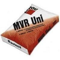 Сухая универсальная штукатурная смесь 25 кг Baumit MVR Uni