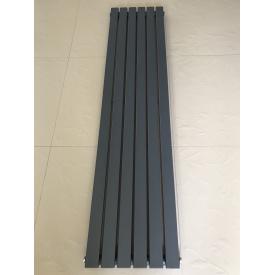 Вертикальный дизайнерский радиатор отопления ТМ ARTTIDESIGN Terni || 6/1800 серый