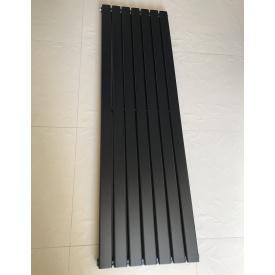 Вертикальный дизайнерский радиатор отопления ТМ ARTTIDESIGN Livorno || 7/1800 чёрный матовый