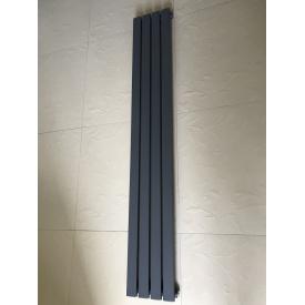 Вертикальный дизайнерский радиатор отопления TM ARTTIDESIGN Terni 4/1800 серый матовый