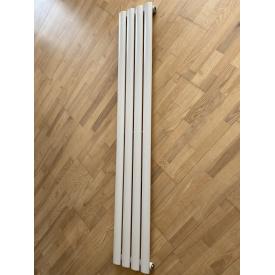 Вертикальный дизайнерский радиатор отопления ТМ ARTTIDESIGN Rimini 4/1500 белый матовый