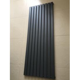 Дизайнерский вертикальный радиатор отопления TM ARTTIDESIGN Livorno 9/1800 Цвет серый матовый