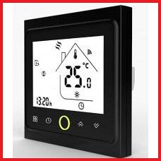 Терморегулятор Сенсорный программируемый Castle TWE-02 Wi-Fi –черный