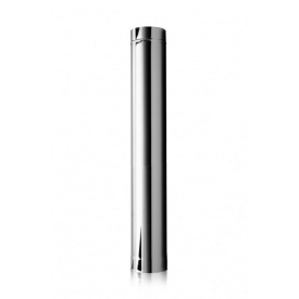 Труба дымоходная L 0,5 м. стенка 0.8 мм. (нержавейка) Ø 300