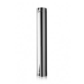 Труба дымоходная L 0.5 м. стенка 0.6 мм. (нержавейка) Ø 250
