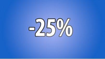 Знижка -25%