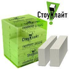 Газобетон Стоунлайт стеновой D400 + клей