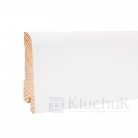 Плінтус Kluchuk White Plinth Дуб Профіль Євро