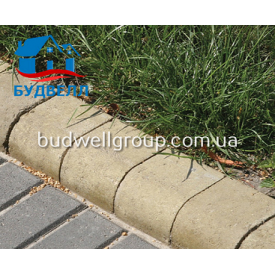 Тротуарная плитка Бордиур 180х100 мм
