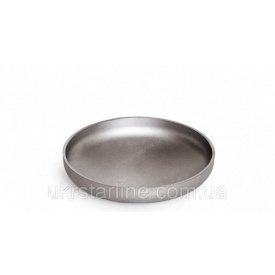 Заглушка нержавіюча 40/48,3x2 мм AISI 304