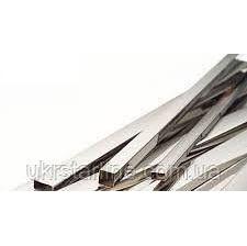 Труба н/ж 100х100х2,0 профільна полірована AISI 304