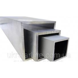 Труба алюмінієва профільна 40x40x2 мм АД31