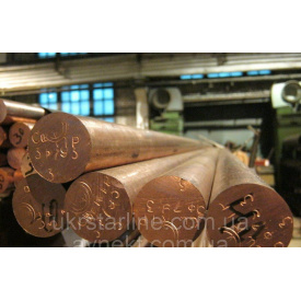 Круг медный 35х3000 мм М1 М2 твёрдый
