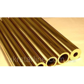 Труба латунна 68x6,5 мм 63 Л