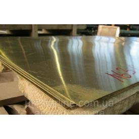 Латунный лист 1,2х600х1500 мм Л 63 ЛС 59 п