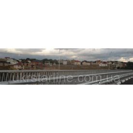 Мостовое дорожное ограждение 11МО-2