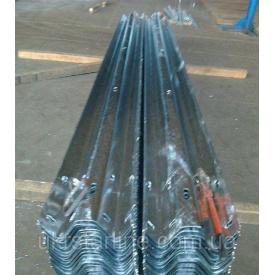 Секции балок оцинкованные СБ-1 312х83х3,0х4320 мм